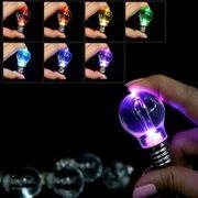 Schlüsselanhänger Glühbirne LED mit 7
