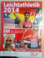 Buch EM Leichtathletik 2014 Zürich