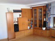 Tischler Wohnzimmer Wohnwand m Glasvitrinenschrank