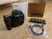 Nikon D850 Body neuwertig mit