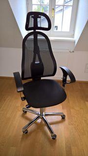 Schreibtischstuhl - schwarz