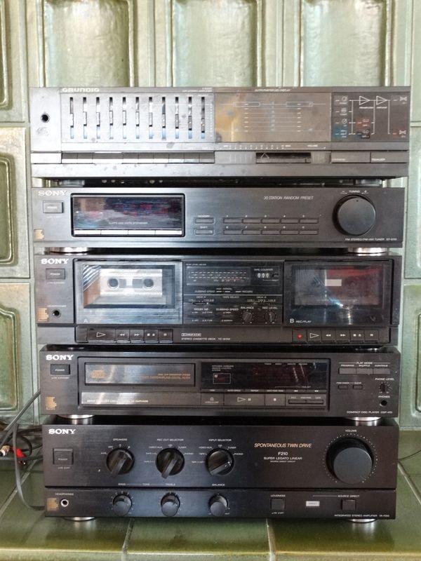 Sony Heimanlage Defekt » Stereoanlagen, Türme