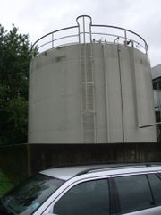 Tankdemontage / Keller Tank/