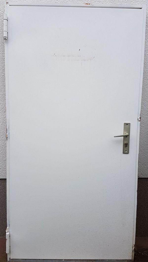 Feuerschutztür, Stahltür, mit Rahmen in Viernheim - Türen, Zargen ...