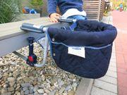 Babystuhl klappbar für Reise babideal