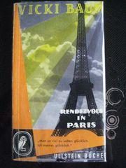 Spannender Roman Rendezvous in Paris