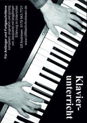 Klavierunterricht - kostenlose Probestunde -