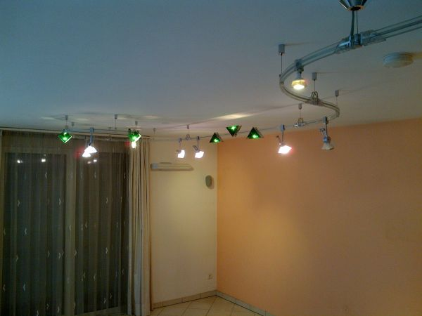 Glasschienensystem Filigrano Strahler » Lampen