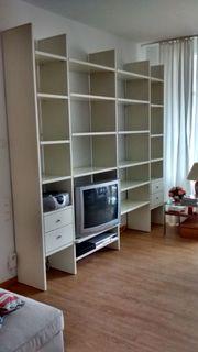 Bücherregal weiß Hülsta