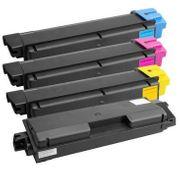 4 Stück Farb-Toner TK-580K C