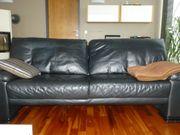 Sofa Couch Ledersofa 3er 2er