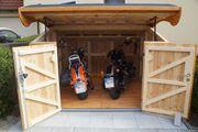 Kleingarage Fahrradgarage Motorradgarage Gartenhaus Schuppen