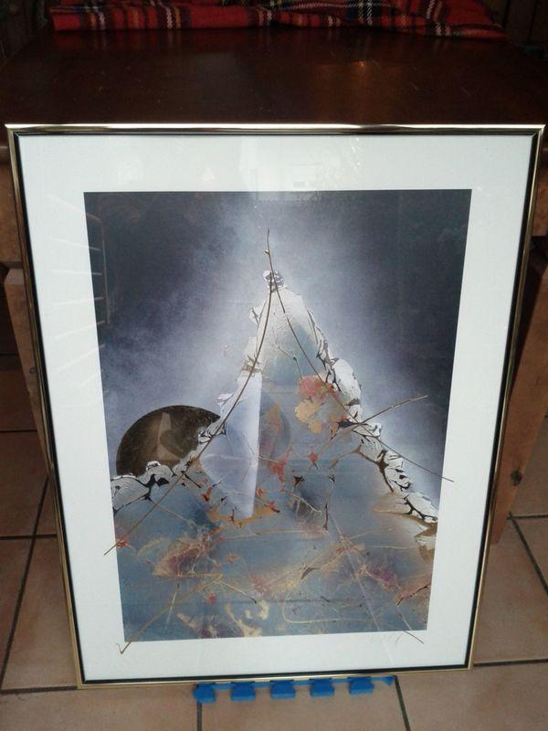 Wunderschöne Kunstdrucke, sehr hochwertig gerahmt, top Zustand ! in ...