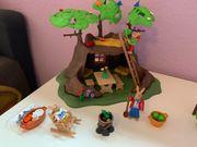 Playmobil Osterbaumhaus plus Ostereiermalerei