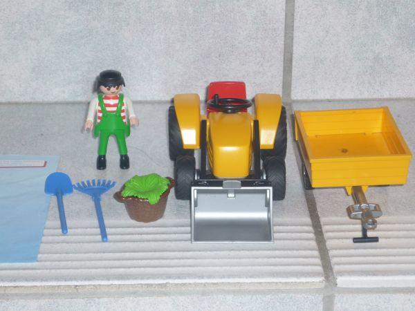 4486 Traktor Rolle zubehör passent