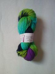 Sockenwolle handgefärbt,6