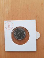 50 Pfennig 1950 G Bank Deutscher Länder In Krottelbach Münzen