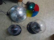 Discokugel Lichtorgel