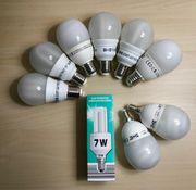 9 Energiesparlampen, voll
