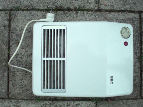 Wand Heizlufter 2000w In Weinheim Ofen Heizung Klimagerate