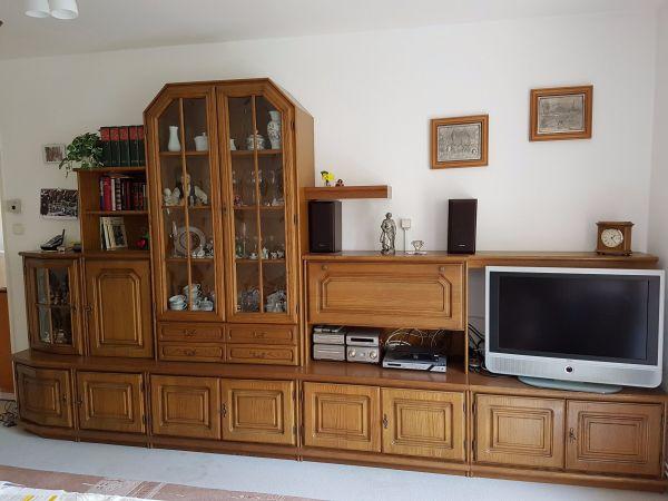 schrankwand eiche gebraucht kaufen nur 2 st bis 75 g nstiger. Black Bedroom Furniture Sets. Home Design Ideas