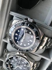 Deepsea Blue Automatik Taucheruhr