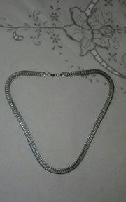 Edelmetal Halskette Farbe Silber 52