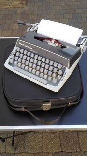 Alte Schreibmaschine Hanseatic de luxe