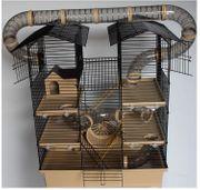 Hamster- Mäusekäfig neu und aufgebaut