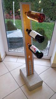 Design Weinständer Flaschen hängen horizontal