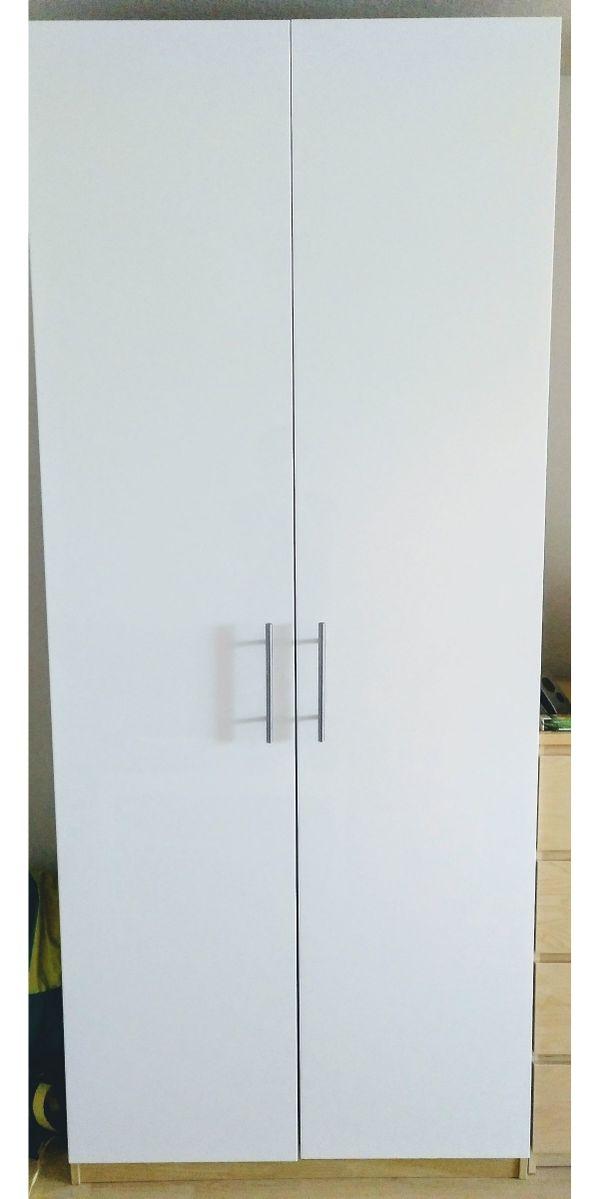IKEA PAX-Schrank weiß/Eiche 100x58x236cm (LxTxH) in Erlangen ...