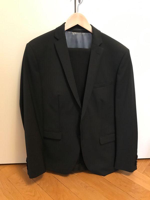 Anzug Schwarz, 2x » Herrenbekleidung