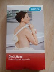 3. Hand, Rückenpflege