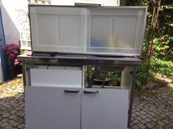 Mini küchenzeile ikea  IKEA Mini Kompakt Küche in München - IKEA-Möbel kaufen und verkaufen ...