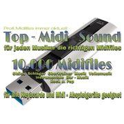 10 000 Midifiles mit Lyrics