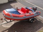 Gugel RIB Schlauchboot mit Motor