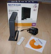Netgear Wireless-N 300 Router WNB2100-100GRS