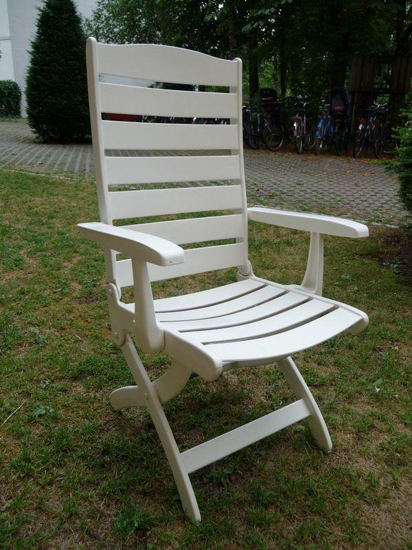 kettler gartenstuhl wei in berlin gartenm bel kaufen und verkaufen ber private kleinanzeigen. Black Bedroom Furniture Sets. Home Design Ideas