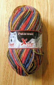 Sockenwolle Opal- POLARWOLF-