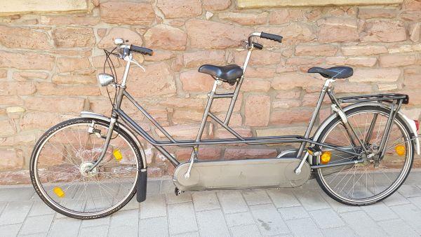 tandem fahrrad gebraucht kaufen nur 2 st bis 70 g nstiger. Black Bedroom Furniture Sets. Home Design Ideas
