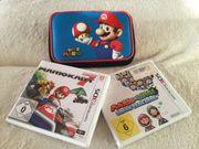 3DS Nintendo Konsole 5 Spiele