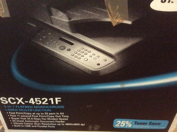 Samsung SCX-4521F » Laserdrucker