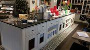 Ladeneinrichtung für Feinkostgeschäft oder Coffeeshop