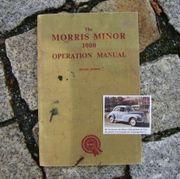 Betriebsanleitung Morris Minor
