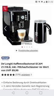Kaffeevollautomat Nagelneu Otto