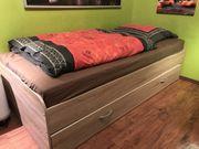 Bett ausziehbar 90 x 200