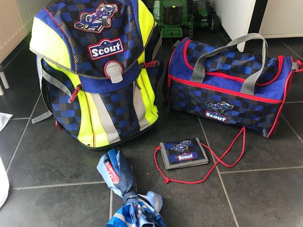 Schultornister scout wild life gebraucht kaufen bei dhd24.com
