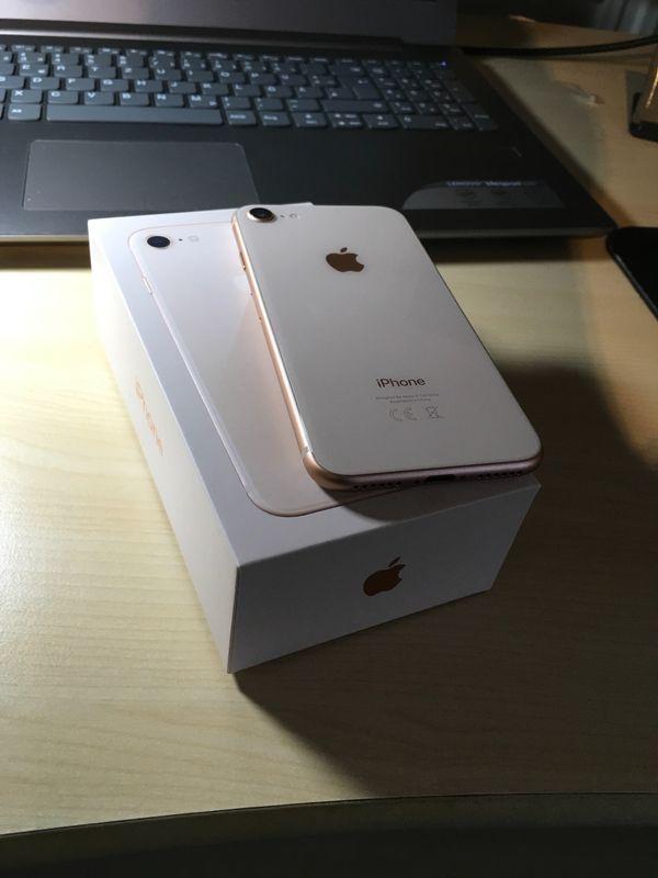 apple iphone 8 gold 64gb vodafone wie neu in duisburg. Black Bedroom Furniture Sets. Home Design Ideas