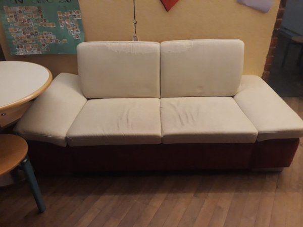 Leder Sofa Couch Zum Verschenken Für Selbstabholer In Berlin