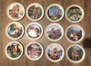 12 x Hummel Figurenkunst Teller